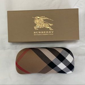 Burberry sunglasses case